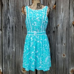6 Dress Lilly Pulitzer Blue Fox Tank Becky NWT